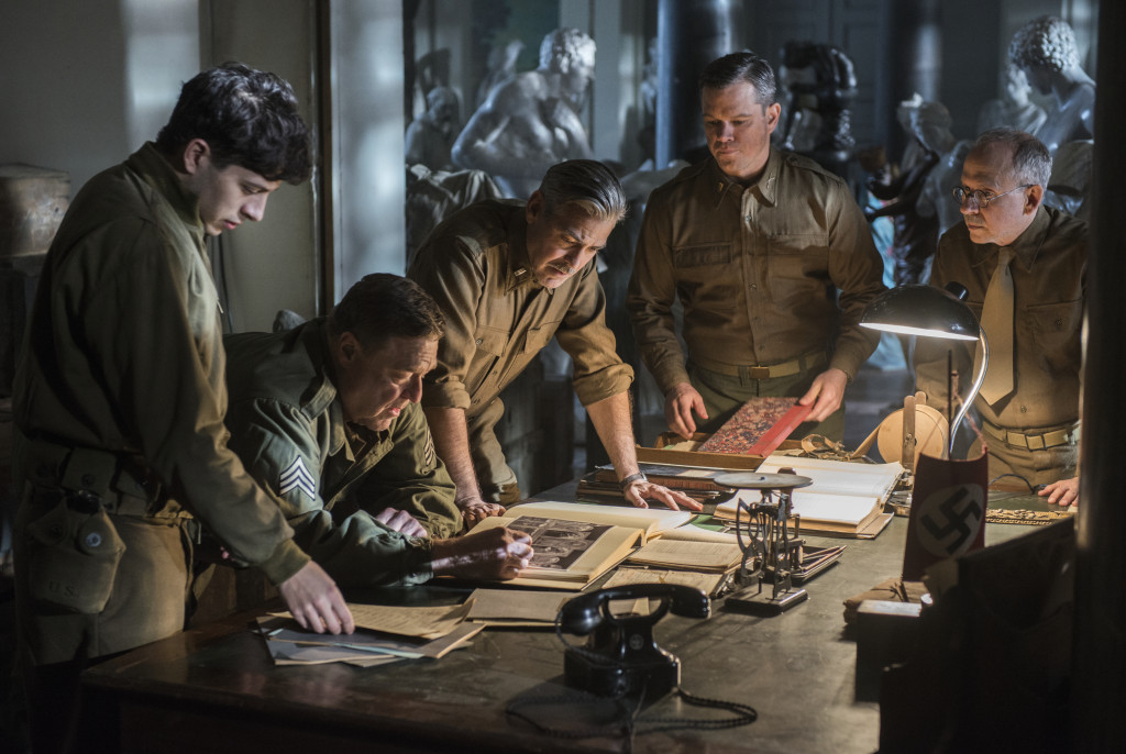 "Clueless Movie Reviews: ""The Monuments Men"""