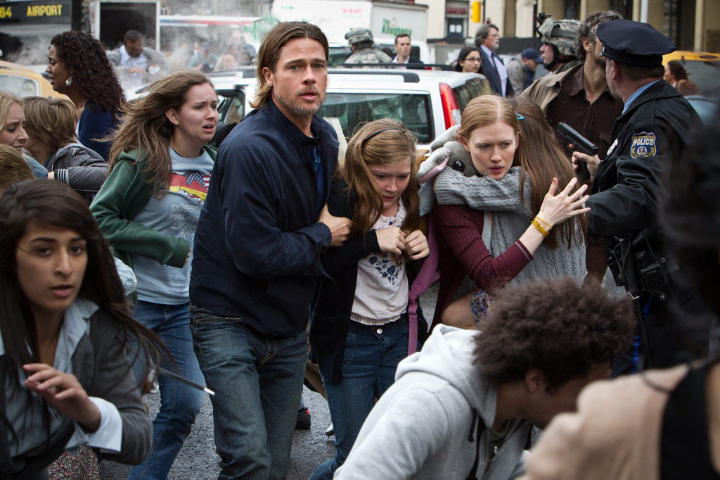 "Clueless Movie Reviews: ""World War Z"""