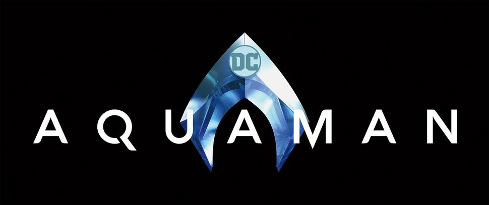 Aquaman text treatment