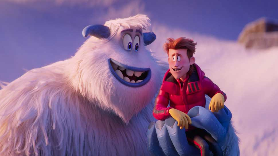 "(L-R) Migo voiced by CHANNING TATUM and Percy voiced by JAMES CORDEN in the new animated adventure ""SMALLFOOT,"" from Warner Bros. Pictures and Warner Animation Group."
