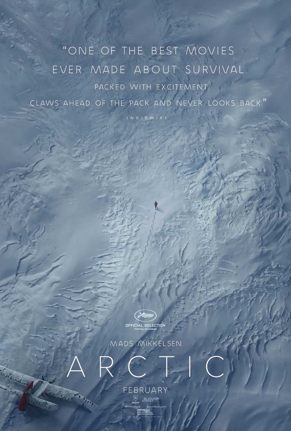 """Arctic"" movie poster"