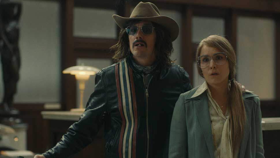 "ETHAN HAWKE and NOOMI RAPACE in ""Stockholm,"" courtesy of Dark Star Pictures."