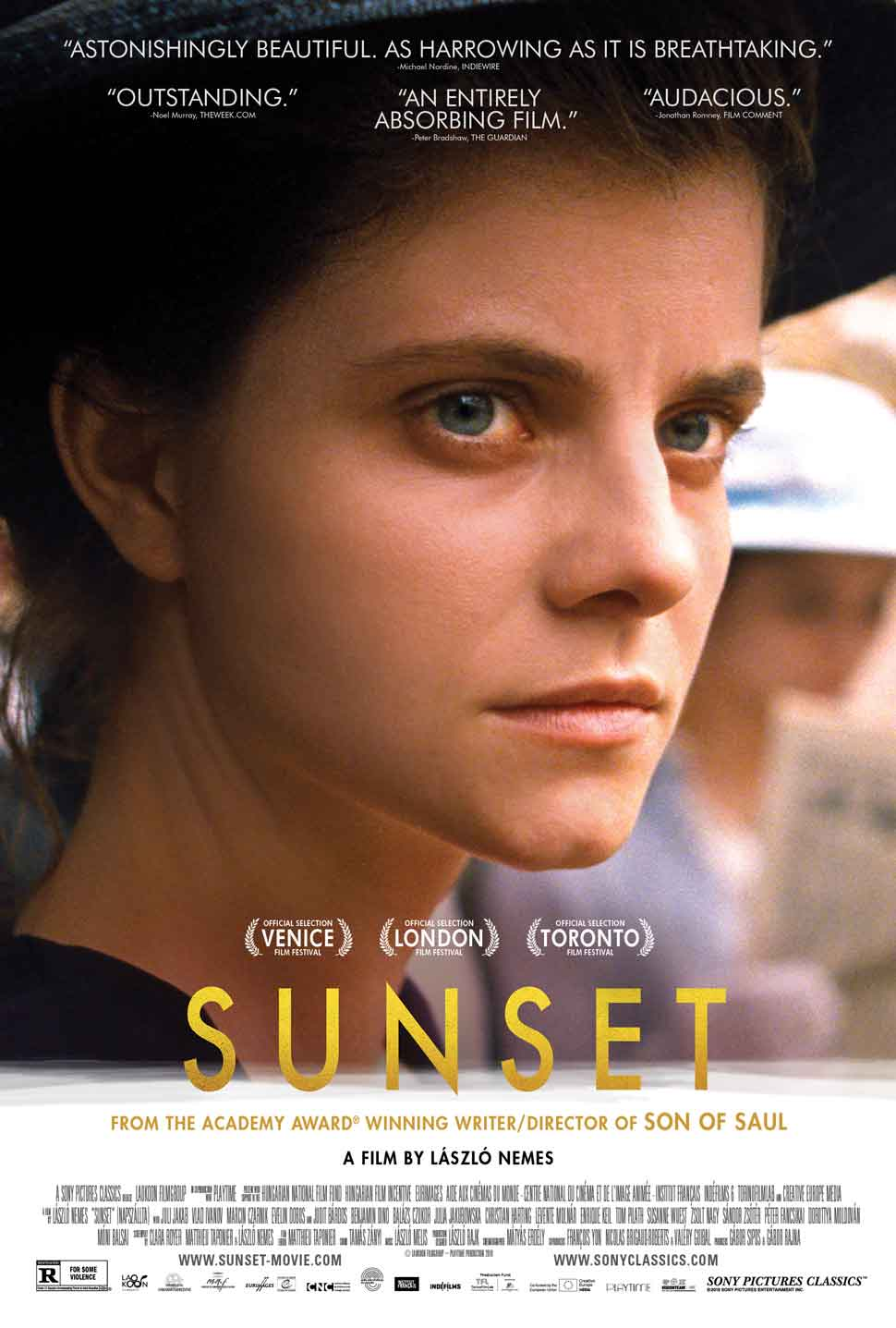 Sunset international poster art